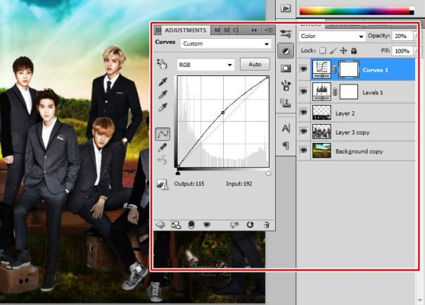 [Tutorial and Stocks] How To make Nature Wallpaper Using Photoshop Exo Version 9