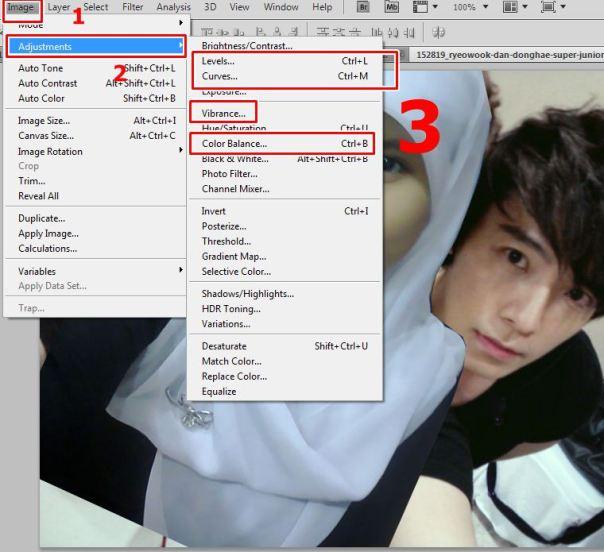Cara Membuat Manipulasi Berfoto Dengan Artis Menggunakan Adobe Photoshop 3