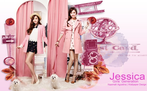 Girls' Generation Jessica on SOUP Magazine Wallpaper by Nazimah Agustina
