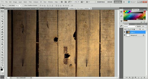 how to make simple wallpaper but interesting with adobe photoshop 1 (2)