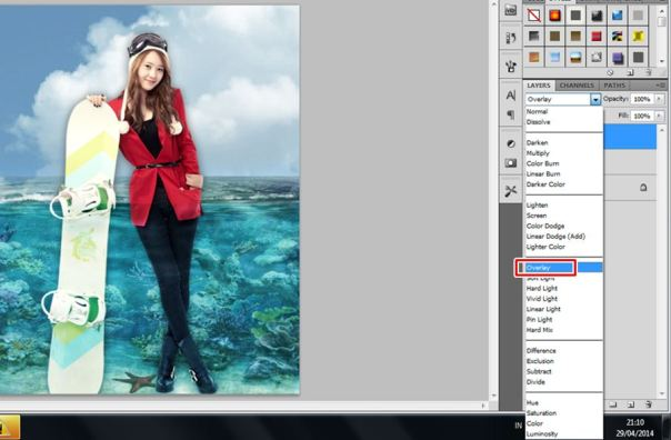 3 [Tutorial and stock] Membuat Manipulasi Bawah Air Menggunakan Photoshop