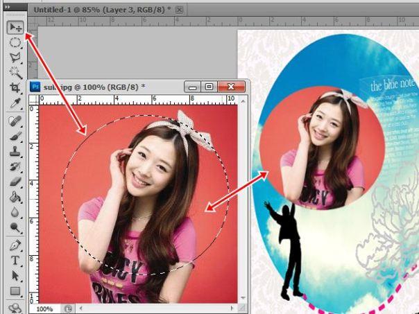 4 [Tutorial and Stock] Membuat Cover Fanfic Dengan Banyak Cast Menggunakan Photoshop sunny suho taemin krystal minho sulli lovely