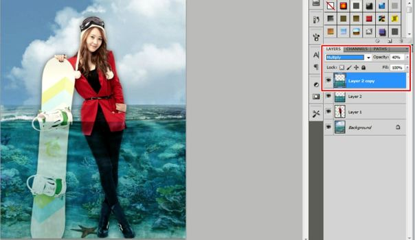 4 [Tutorial and stock] Membuat Manipulasi Bawah Air Menggunakan Photoshop