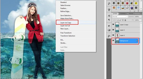 5 [Tutorial and stock] Membuat Manipulasi Bawah Air Menggunakan Photoshop