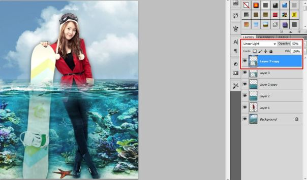 8 [Tutorial and stock] Membuat Manipulasi Bawah Air Menggunakan Photoshop