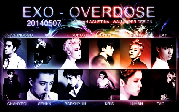 EXO M K OVERDOSE IMAGES TEASER 2ND WALLPAPER BY NAZIMAH AGUSTINA 20140507