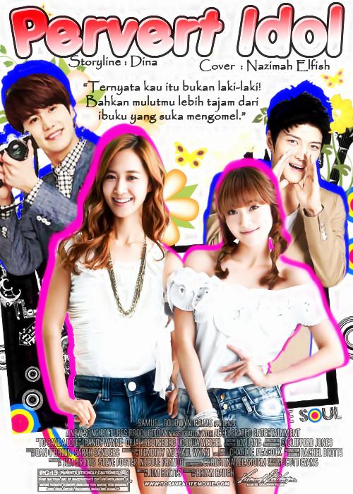 pervert idol cover ff kim jaejoong jessica jung kwon yuri cho kyuhyun super generation jyj romance comedy ternyata kau itu bukanlah laki-laki bahkan mulutmu lebih tajam dari ibuku yang suka mengomel