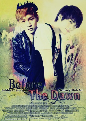 Before The Dawn Buble92 Lee Jinki and Kim Jonghyun Hurt, Frinedship, and Family cover fanfic shinee