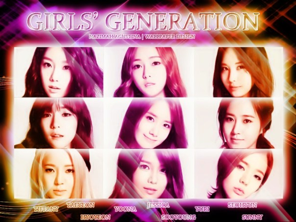 GG girls'generation wallpaper new light bright photoshop editing picspam