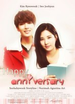 happy anniversary romance fluff soft cover fanfic kim ryeowook seohyun snsd