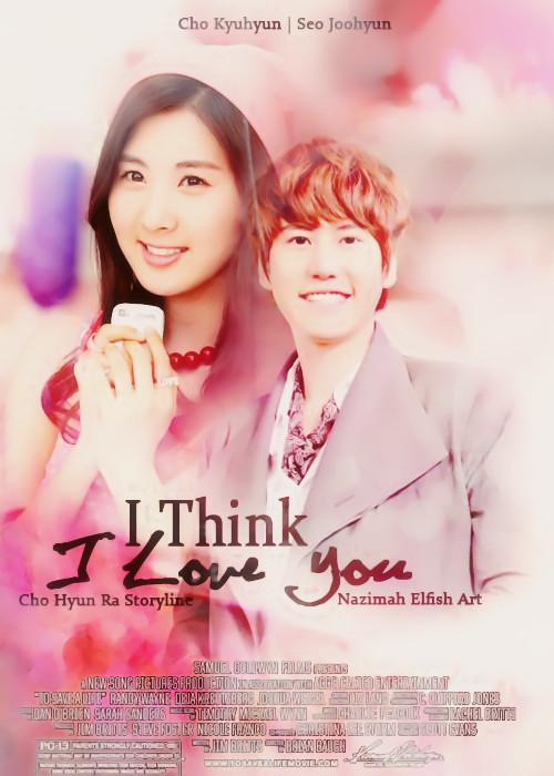 i think i love you cho hyun ra story line sugen seokyu kyuseo cho kyuhyun seo joohyun romance fantasy school life cover fanfic