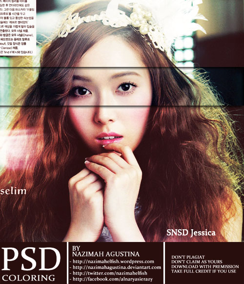 psd coloring snsd jessica soft pink by nazimah agustina