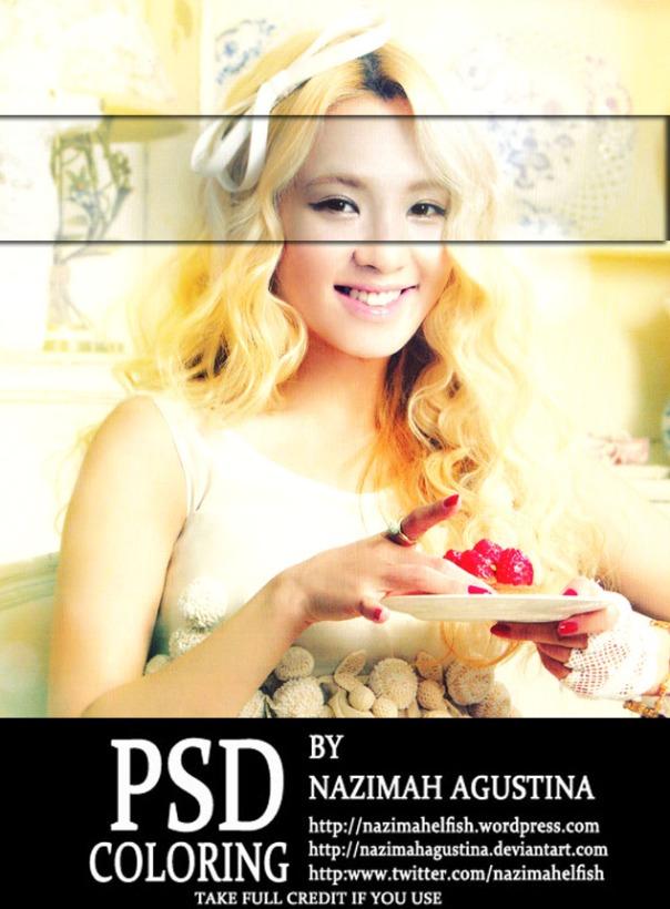 [PSD Preview] SNSD Hyoyeon by Nazimah Agustina