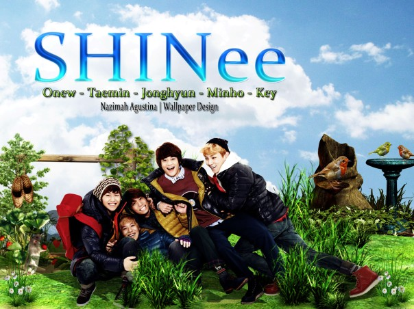 shinee nature manipulation fresh wallpaper onew minho taemin key jonghyun new 2014