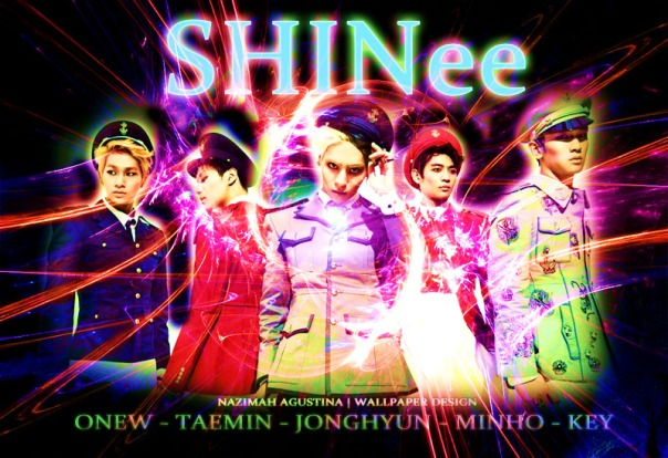 SHINEE  taemin minho onew jonghyun key onkey 2min everybody wallpaper lighting purple