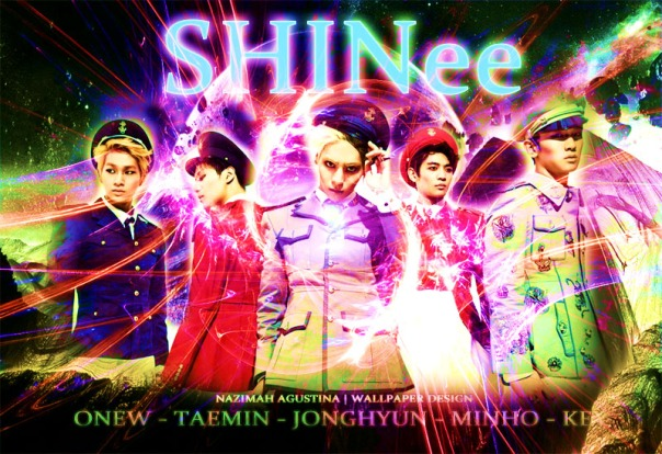 SHINEE wallpaper graphic abstract wallpaper image photo edting