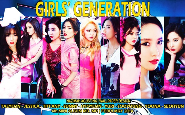 snsd for mr mr teaser photos 2014 wallppaer