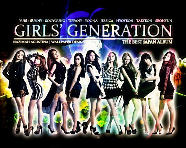 SNSD SJJD new the best japan album 2014 wallpaper taeyeon yoona seohyun yuri tiffany jessica sooyoung hyoyeon by nazimah agustina