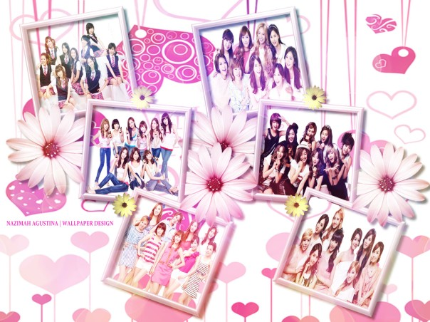SNSD WALLPAPER 6 frame the power of nine