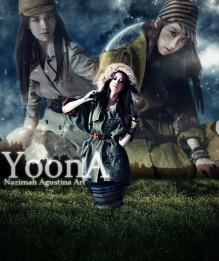 Tutorial How To Make Dark Fantasy Wallpaper using adobe photoshop cs5 yoona snsd visual lead dance