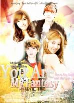 you are my fantasy cover fanfiction romance soft exo luhn baekhyun jessica snsd kim hyoyeon girlfly89_