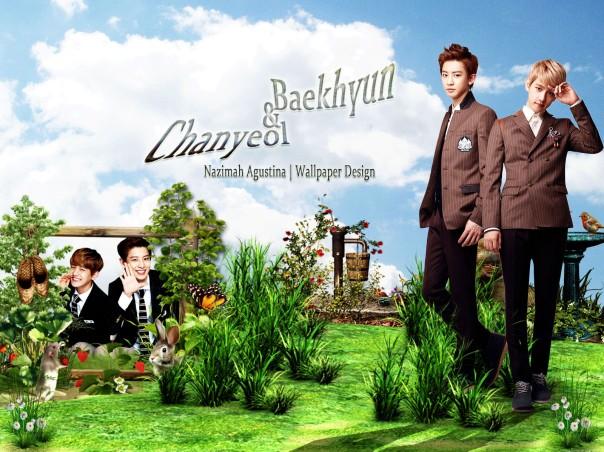 chanbaek nature baekhyeol park chanyeol byun baekhyun wallpaper by nazimah agustina