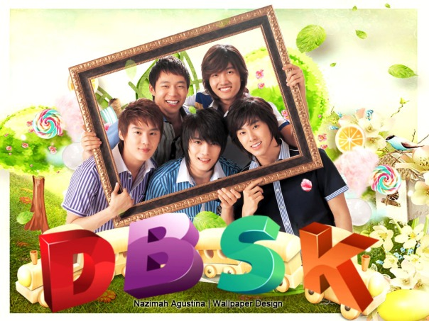 dbsk wallpaper cute by nazimah agustina new