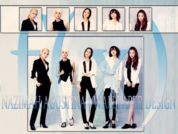 F(X) for marie claire elegant wallpaper by nazimah agustina 2014 art design graphic