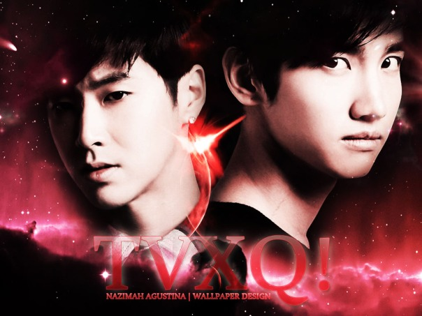 jung yunho shim changmin cassieopia red lightstick wallpaper by nazimah agustina