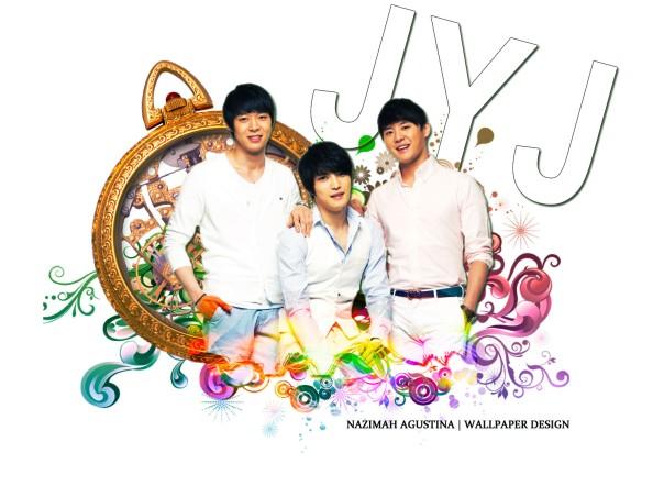 JYJ jaejoong yoochun junsu wallpaper by nazimah agustina