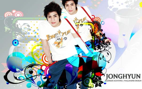 KIM JONGHYUN shinee wallpaper by nazimah agustina for him birthday