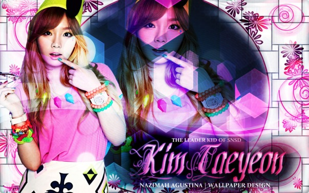 KIM TAEYEON TEH LEADER KID OF SNSD HIGH QUALITY WALLPAPER BY NAZIMAH AGUSTINA