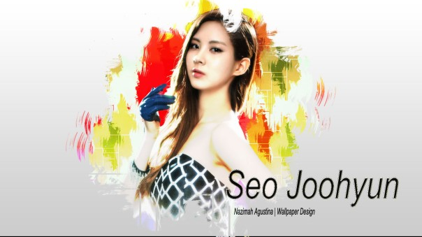 seohyun snsd gg wallpaper simple and intersting