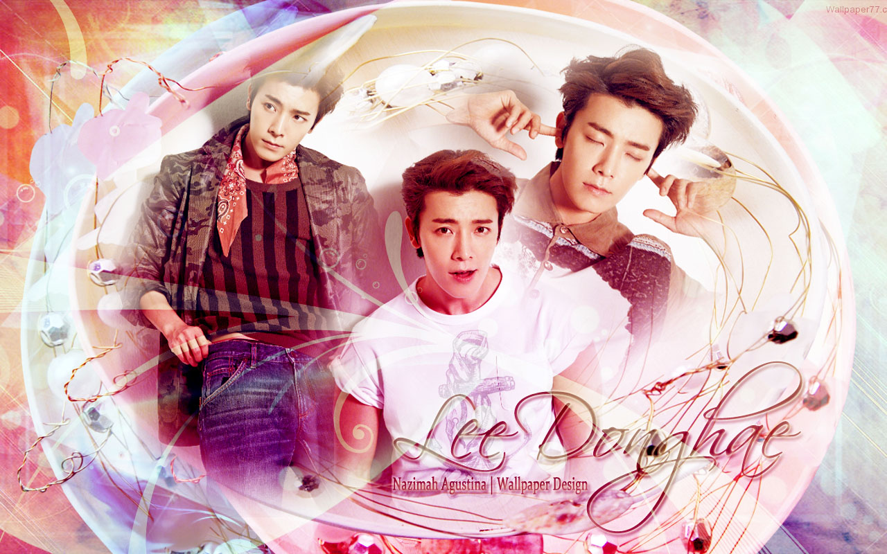 Super Junior Lee Donghae New Wallpaper 2014 Photoshoot By