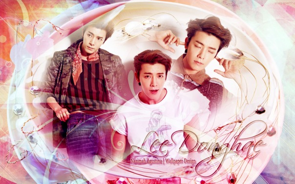 super junior lee donghae new wallpaper 2014 photoshoot by nazimah agustina lighting soft pink