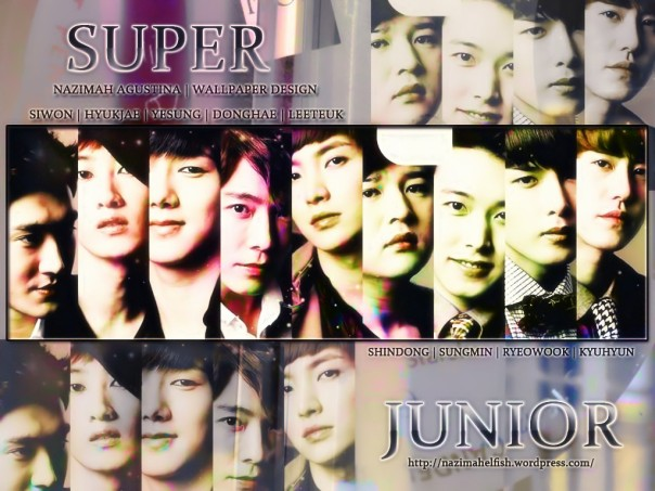 SUPER JUNIOR wallpaper new 2015 by nazimah agustina