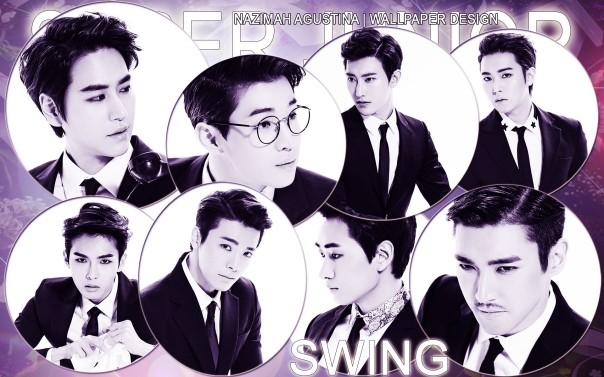 Swing super junior m wallpaper siwon eunhyuk donghae sungmin henry zhoumi kyuhyun ryeowook