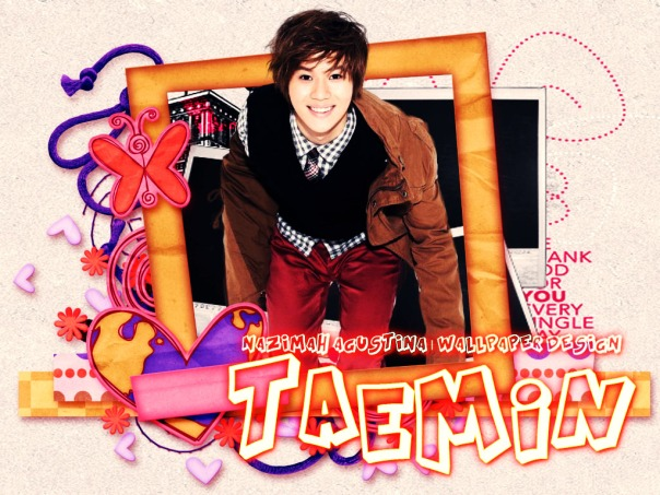 TAEMIN shinee cute frame wallpaper by nazimah agustina birthday