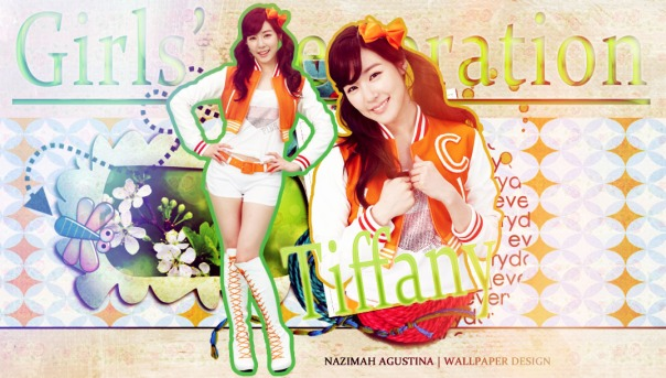 tiffany hwang snsd vita500 wallpaper by nazimah agustina