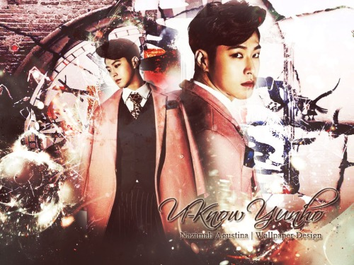 u-know yunho abstract wallpaper by nazimah agustina tvxq homin