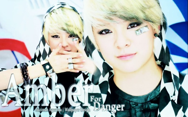amber danger wallpaper f(x) by nazimah agustina