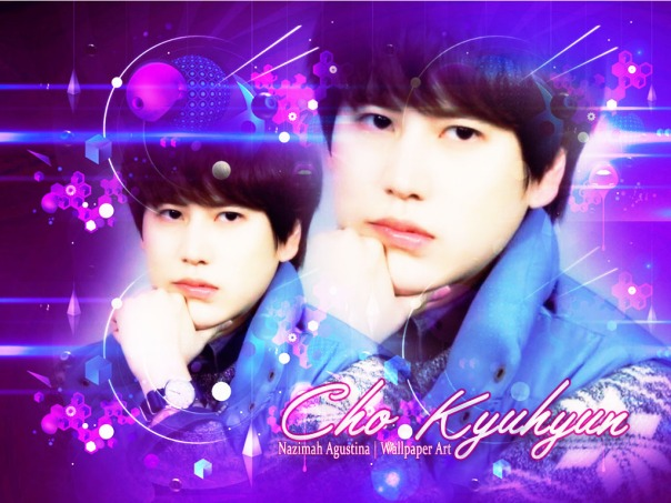 cho kyuhyun super junior loghting wallpaper by nazimah