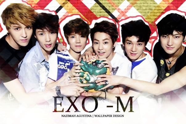 EXO-M kris xiumin wu yifan minseok kim jongdae chen luhan huang zi tao wallpaper cf