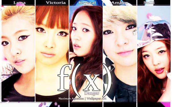 f(x) danger first album 2010 luna victoria krystal amber sulli