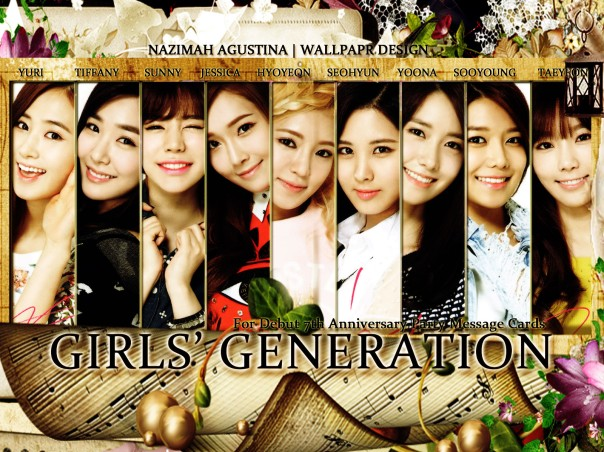 girls' generation snsd debut 7th anniversary party 2014
