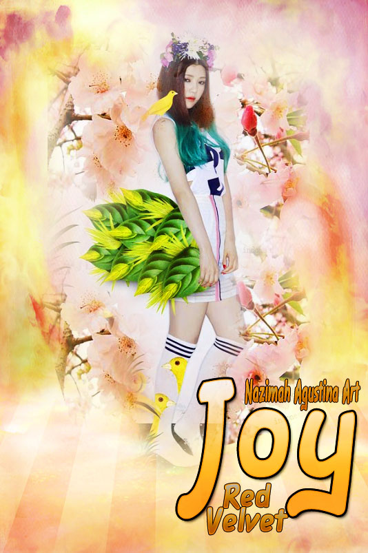 joy maknae smrookies red velvet debut member 2014 new wallpaper by nazimah agustina