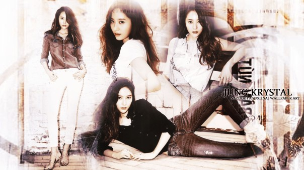 jung krystal for photoshoot magazine new 2014 wallpaper