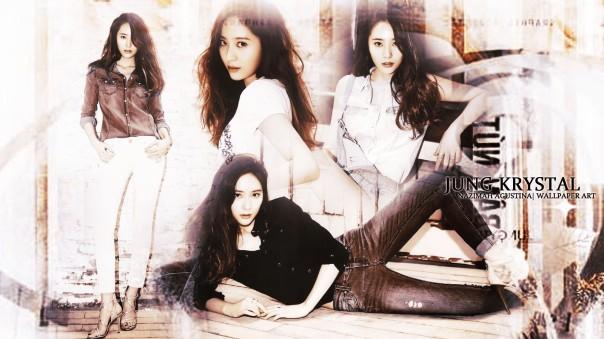 jung krystal for photoshoot magazine new 2014 wallpaper