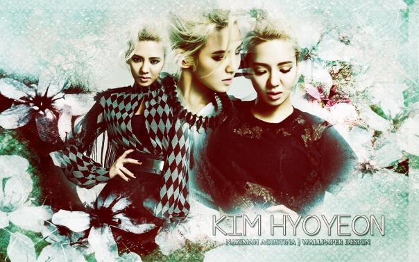 KIM HYOYEON TEXTURE ABSTRACT WALLPAPER FOR HER BHRITDAY 22 SEPTE,BER SNSD MEMBER BY NAZIMAH