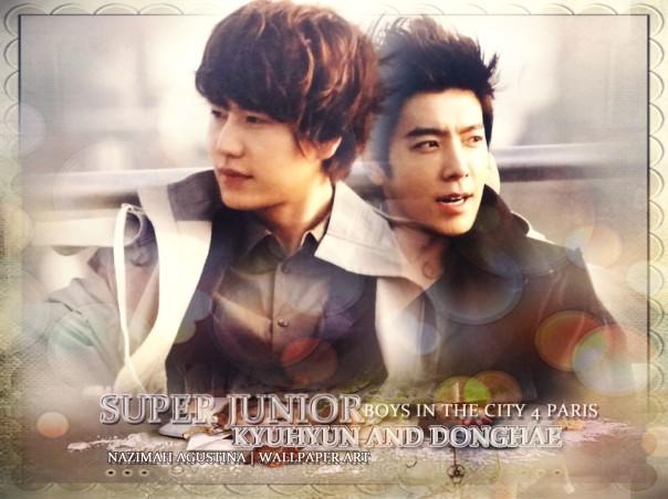 KYUHAE WALLpaper kyuhyun donghae super junior
